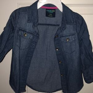Other - Jean blouse